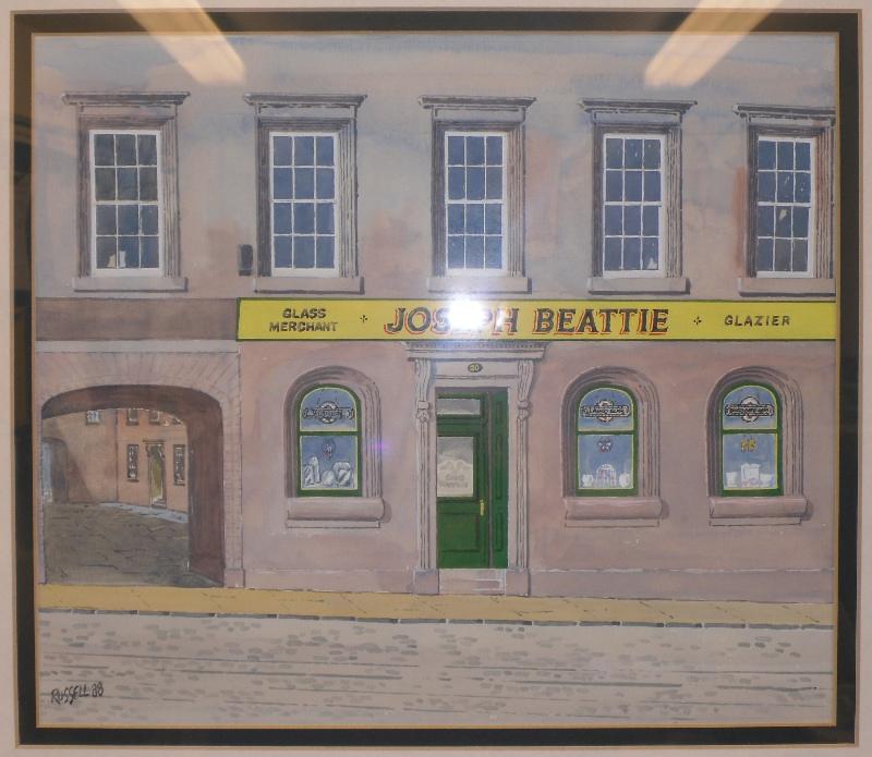 Beattie Glass Paisley